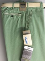 Pale Green FAIRTRADE Cotton Blend Chino by Meyer - Style New York 1-5001/23